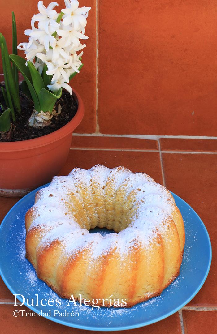 ©Trinidad Padrón Bizcocho de yogur con coco