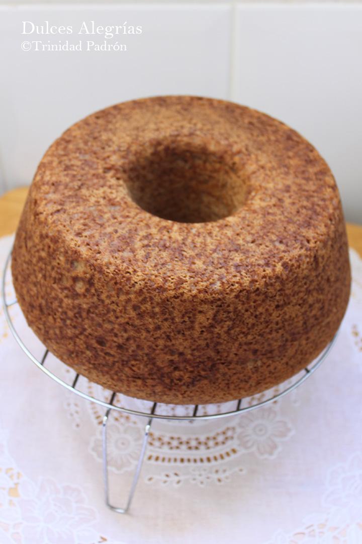 ©Trinidad Padrón Bundt cake de castañas