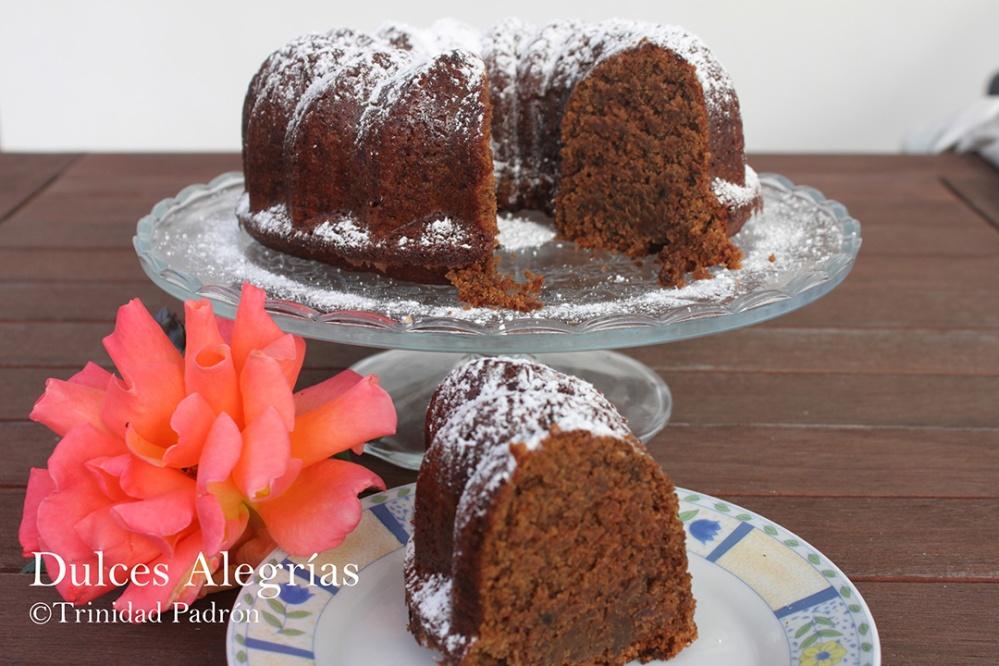 ©Trinidad Padrón Bundt Cake de remolacha y chocolate