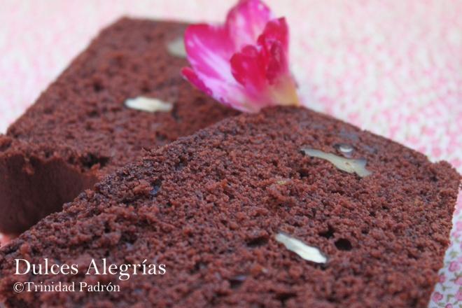 ©Trinidad Padrón Bundt cake de calabacín con chocolate