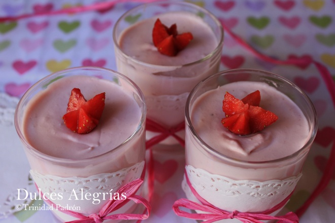 ©Trinidad Padrón Petit de fresas naturales