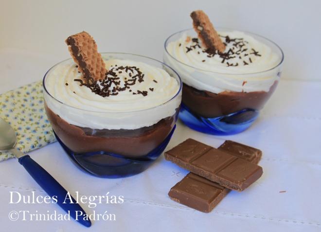 ©Trinidad Padrón Crema de chocolate con nata
