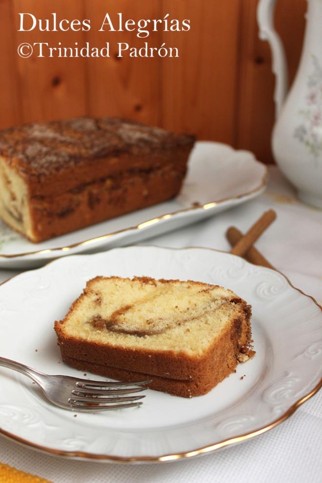 ©Trinidad Padrón Cake de canela