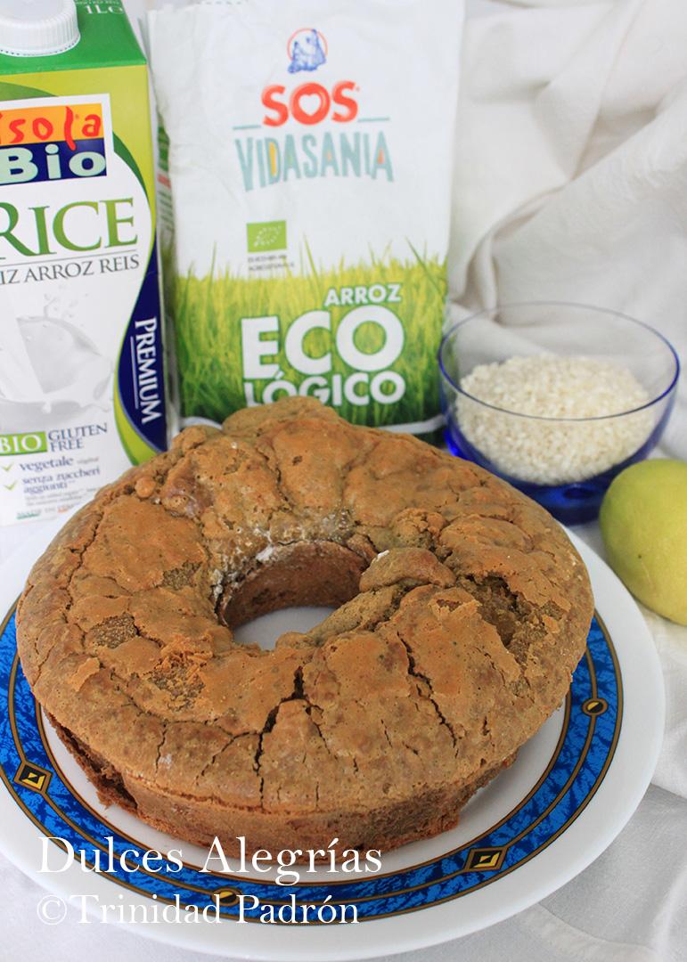 ©Trinidad Padrón Bizcocho con arroz sin