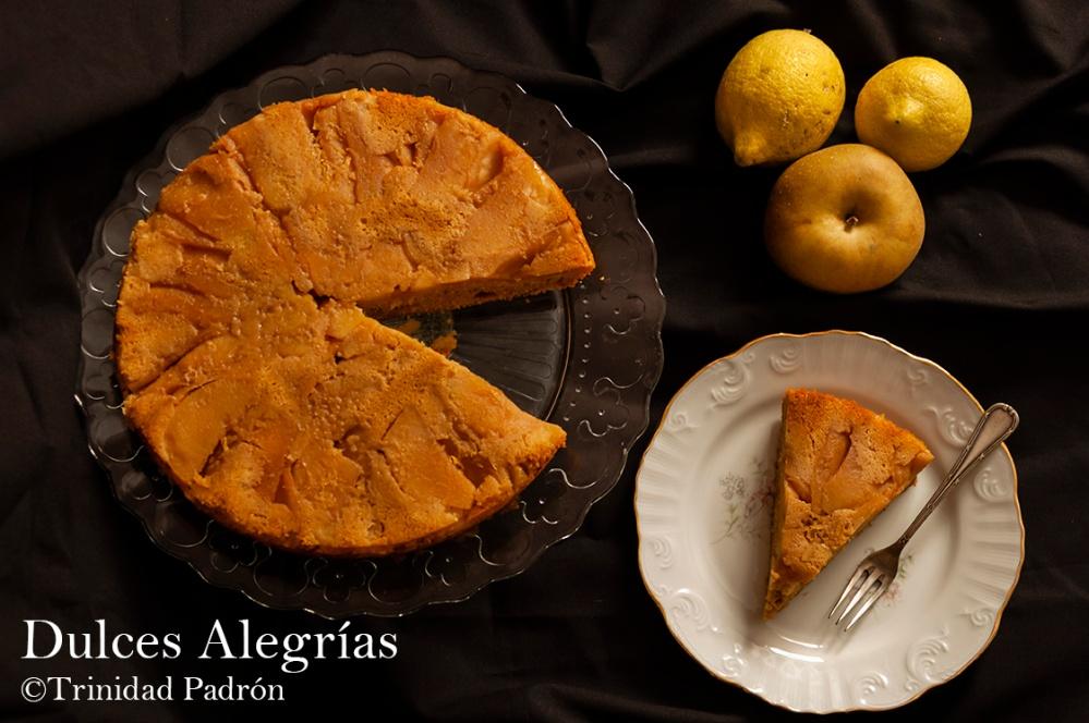 ©Trinidad Padrón Tarta de manzana invertida con sirope de arce 07 de noviembre de 2018-2