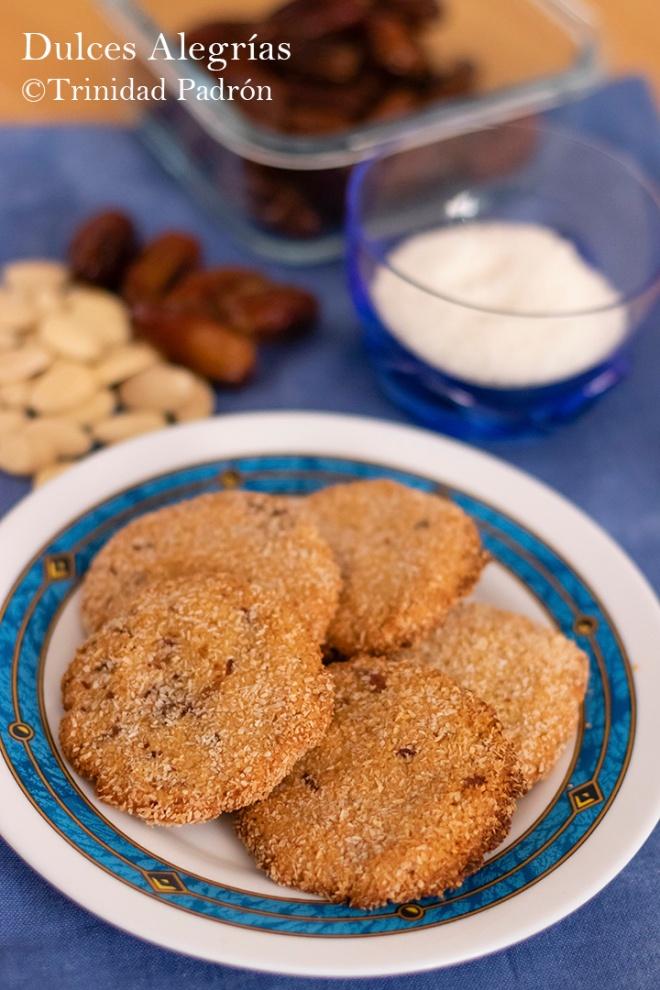 ©Trinidad Padrón Galletas de almendras y coco sin gluten sin azúcar